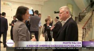 A magyar televízió 1-es csatornáján sugárzott Világhíradóban január 6-án riportot sugároztak a magyar-amerikai gazdasági kapcsolatokról és ezen belül szó esett az American Hungarian Chamber of Commerce of New York és a Hungarian Innovation Center között létrejött megállapodásról is.