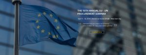 2018. április 9 - 10-én 15. alkalommal kerül megrendezésre az EU országok vállalatai számára szervezett ENSZ közbeszerzési fórum (EUPF – European Procurement Forum) New Yorkban.
