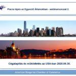 Cégalapítás az USA-ban – AmHunCham Webinarsorozat 2.
