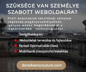 Websites készités hirdetés